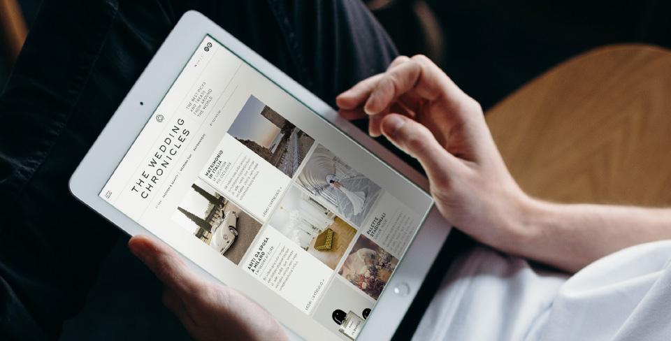 The Wedding Club - Event planner - Magazine